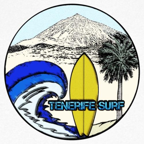 Tenerife Surf - Männer Bio-T-Shirt mit V-Ausschnitt von Stanley & Stella