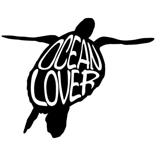 The Sea Turtle - La Tortue Marine - T-shirt bio col V Stanley & Stella Homme