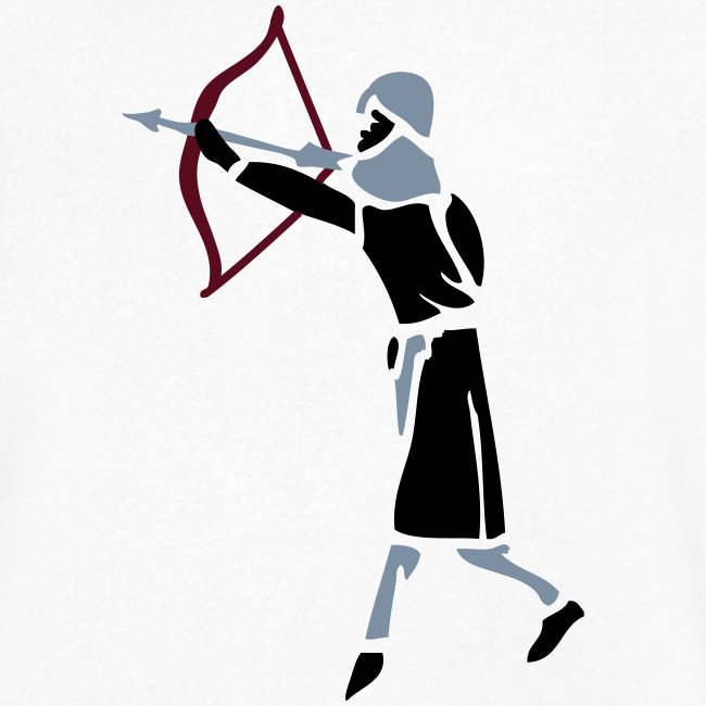 Archer Medieval Icon patjila design