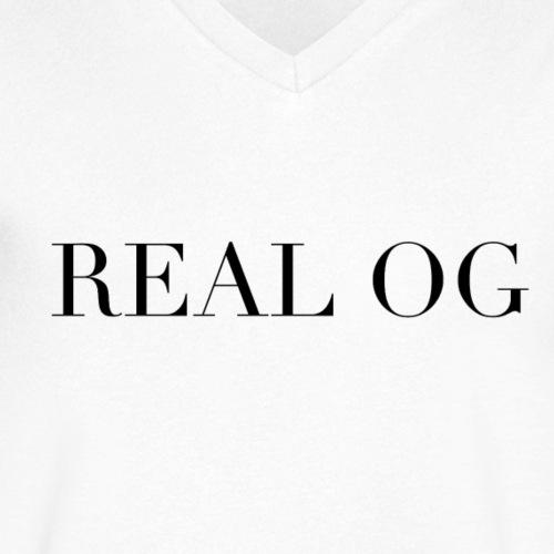 REAL ORIGINAL - Camiseta ecológica hombre con cuello de pico de Stanley & Stella