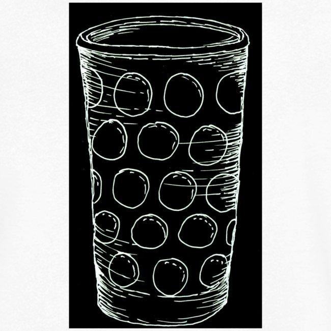 Leergut Dubbeglas -schwarz