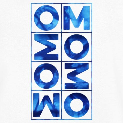 YOGA OM Manta BATIK BLUE - Männer Bio-T-Shirt mit V-Ausschnitt von Stanley & Stella