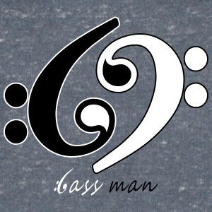 Bass Man - Men's V-Neck T-Shirt