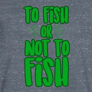 To fish or not to fish - Men's V-Neck T-Shirt