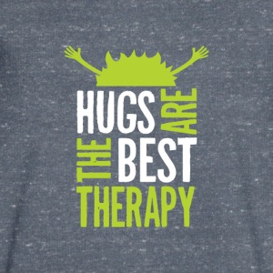 Hugs are the best therapy! Just embrace! - Men's V-Neck T-Shirt