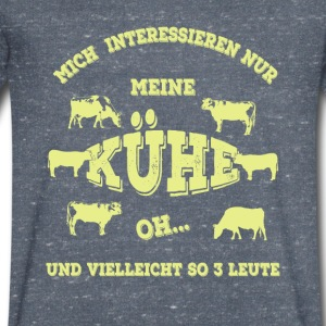 vaches - T-shirt Homme col V