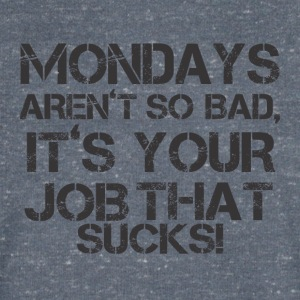 MONDAYS Festarent SO BAD - T-shirt Homme col V