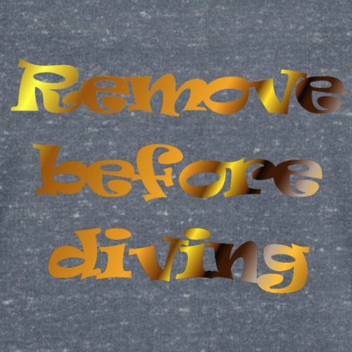 remove before diving - Mannen bio T-shirt met V-hals van Stanley & Stella