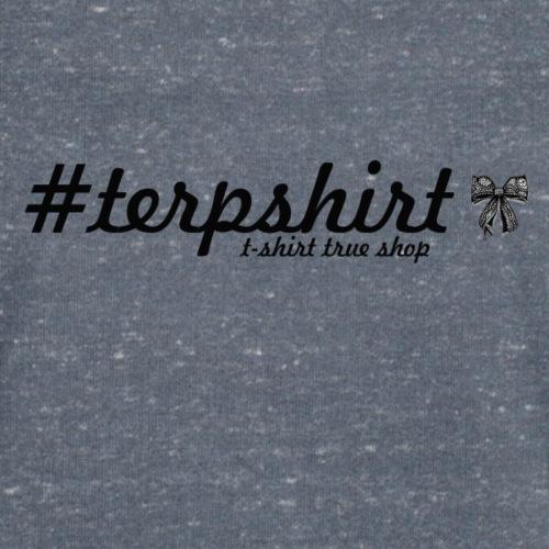 true shop con fiocco - T-shirt ecologica da uomo con scollo a V di Stanley & Stella