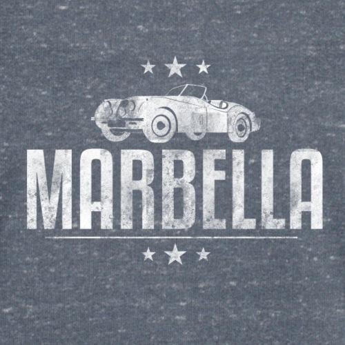 Marbella Vintage Car - Men's Organic V-Neck T-Shirt by Stanley & Stella
