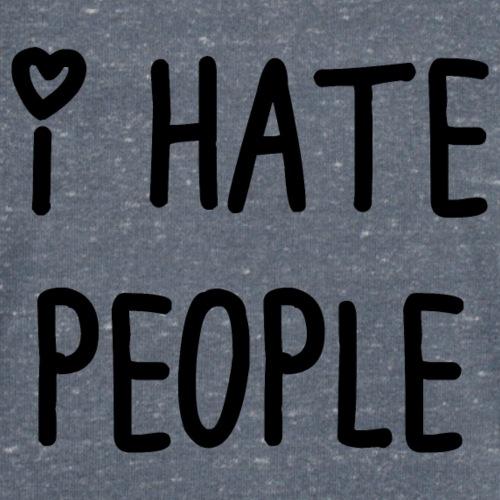 t_shirt I hate people - Camiseta ecológica hombre con cuello de pico de Stanley & Stella