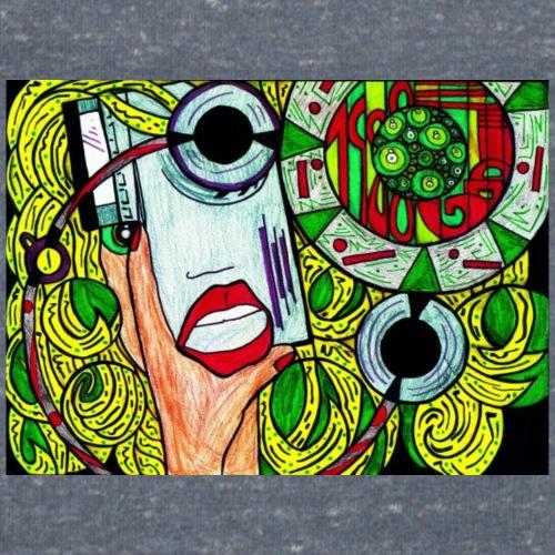 GodiStyle - Camiseta ecológica hombre con cuello de pico de Stanley & Stella