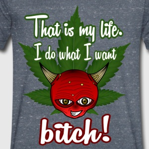 That is my life - Men's V-Neck T-Shirt