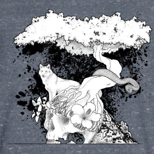 vie & mort - T-shirt bio col V Stanley & Stella Homme