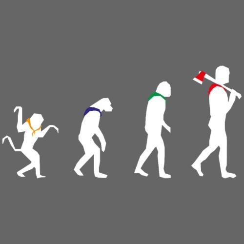 Stufen March of Progress Weiss - Männer Bio-T-Shirt mit V-Ausschnitt von Stanley & Stella