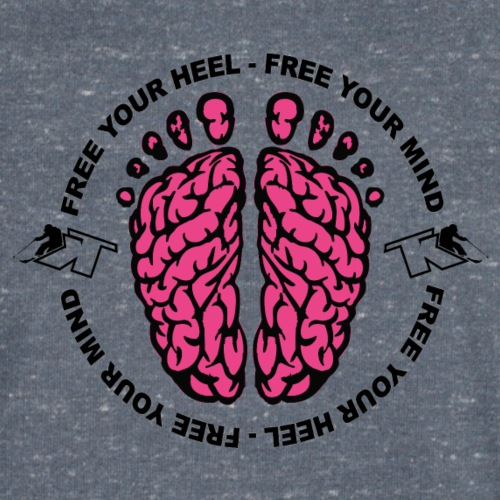 2017 Free your Heel Free your Mind - T-shirt bio col V Stanley & Stella Homme