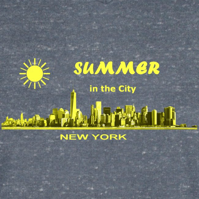 Summer in the City New York USA