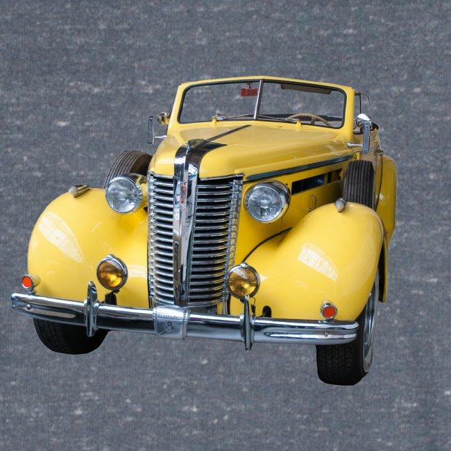 Gele klassieke auto1920