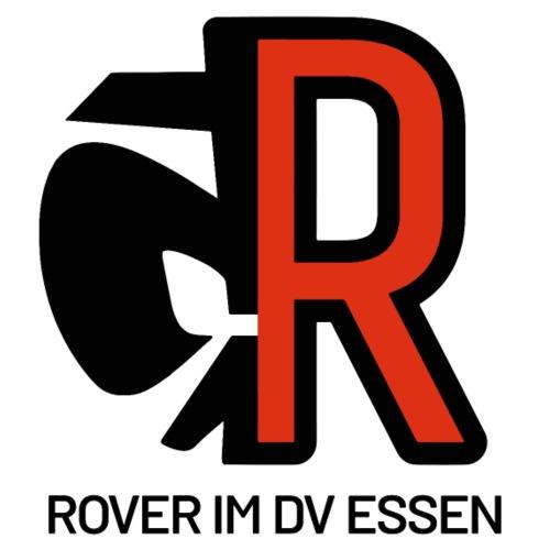 Rover DVE Logo mit Schriftzug - Männer Bio-T-Shirt mit V-Ausschnitt von Stanley & Stella