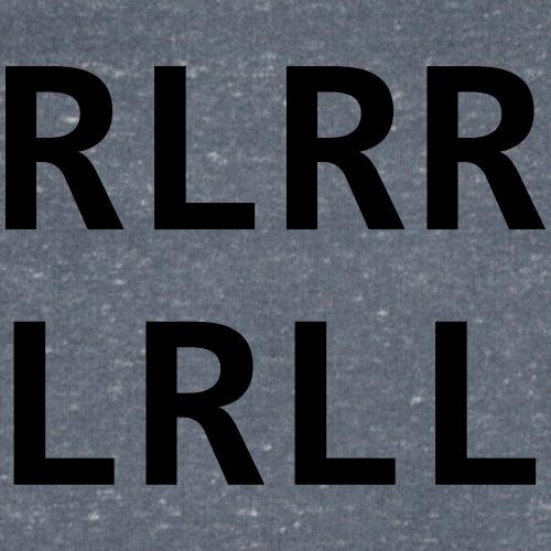 RLRR LRLL - Männer Bio-T-Shirt mit V-Ausschnitt von Stanley & Stella