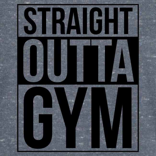 Straight Outta Gym Design.