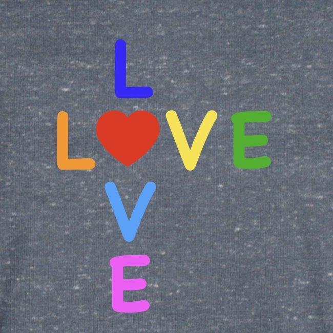 Rainbow Love. Regenbogen Liebe