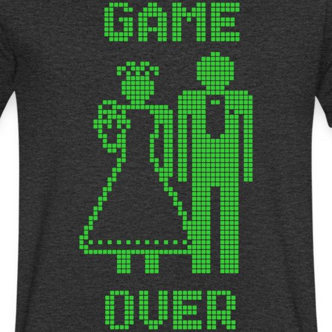 Game Over Old Skool groen
