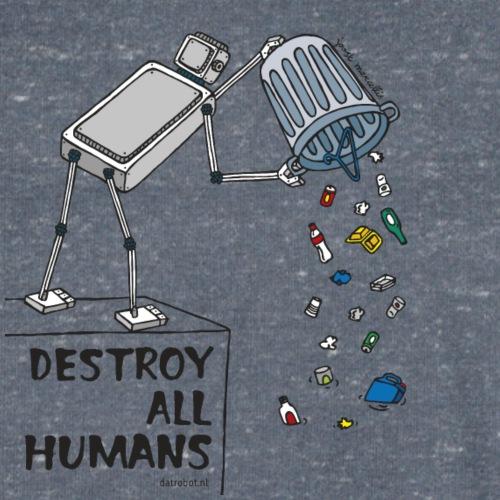 Dat Robot: Destruction By Pollution light