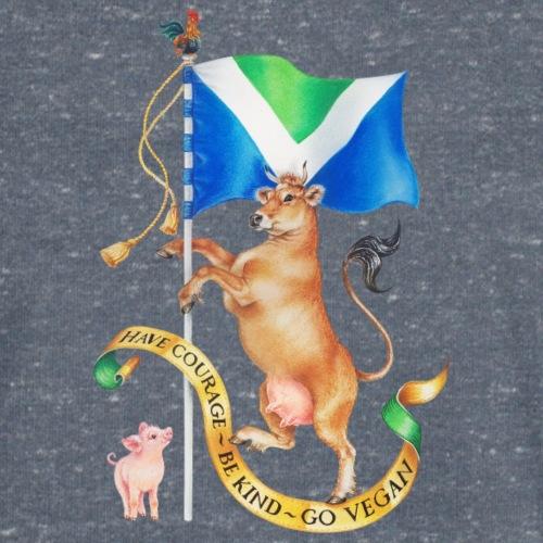 Vegan flag design by Maria Tiqwah - Mannen bio T-shirt met V-hals van Stanley & Stella
