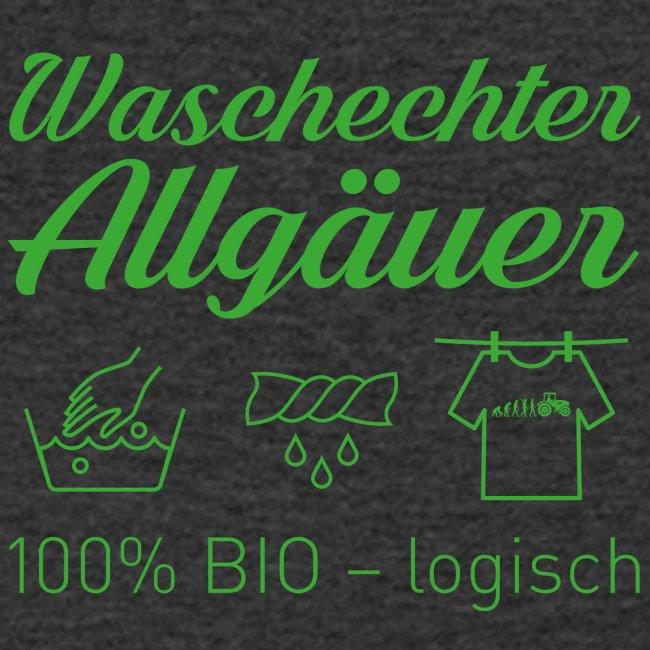 Waschechter Allgäuer grün