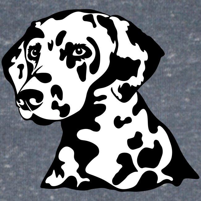Dalmatiner *schwarz/weiss* gefüllt