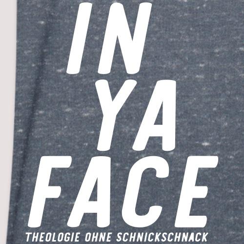 IN YA FACE Logo - Männer Bio-T-Shirt mit V-Ausschnitt von Stanley & Stella