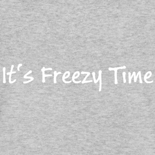 Slogan Es ist Freezy Zeit - Männer Bio-T-Shirt mit V-Ausschnitt von Stanley & Stella