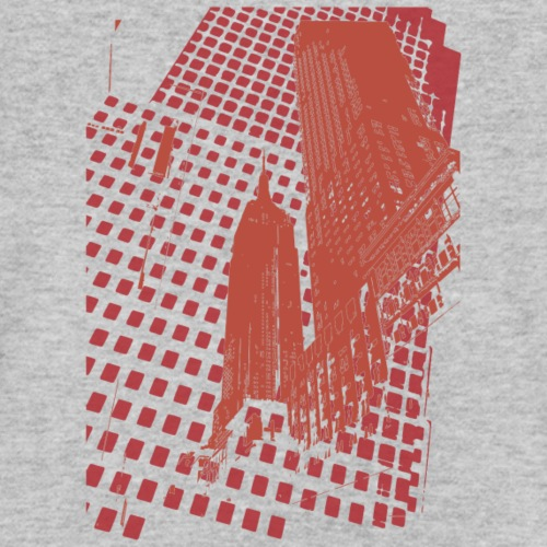 Digital Landscape - Men's Organic V-Neck T-Shirt by Stanley & Stella
