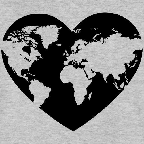 Earth Love - Men's Organic V-Neck T-Shirt by Stanley & Stella