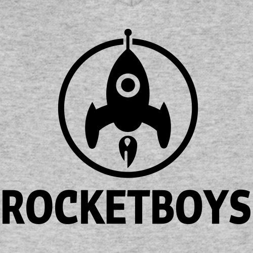 rocketboys logo - Mannen bio T-shirt met V-hals van Stanley & Stella