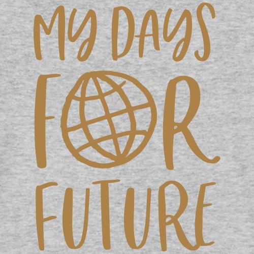 my days for future - Achtsamkeit jeden Tag - Männer Bio-T-Shirt mit V-Ausschnitt von Stanley & Stella