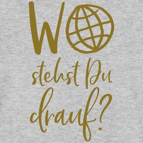 Wo stehst Du drauf? My days for future - Männer Bio-T-Shirt mit V-Ausschnitt von Stanley & Stella