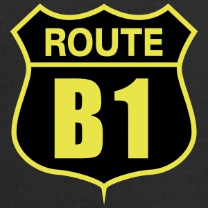 route B1 - Men's V-Neck T-Shirt