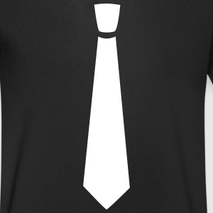 Wide tie - Men's V-Neck T-Shirt