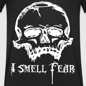 Skull of fear - Men's V-Neck T-Shirt
