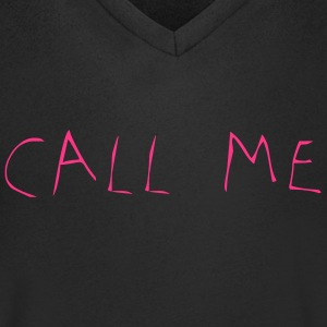 Call Me - Men's V-Neck T-Shirt