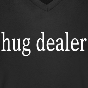 Hug dealer - hugs - Men's V-Neck T-Shirt