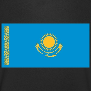 National Flag Of Kazakhstan - Men's V-Neck T-Shirt