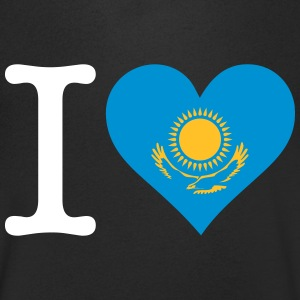 I Love Kazakhstan - Men's V-Neck T-Shirt
