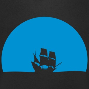 ship - Men's V-Neck T-Shirt