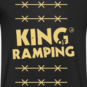 King of Ramping - Men's V-Neck T-Shirt