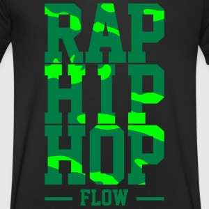 Rap Hip Hop Flow - Men's V-Neck T-Shirt