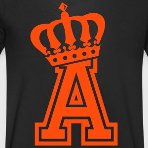 Letter a - Men's V-Neck T-Shirt