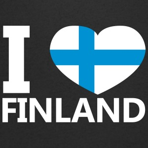 I Love Finland - Men's V-Neck T-Shirt